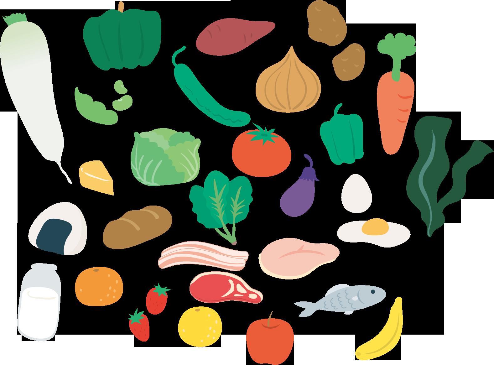 便秘改善に役立つ食べ物、食生活